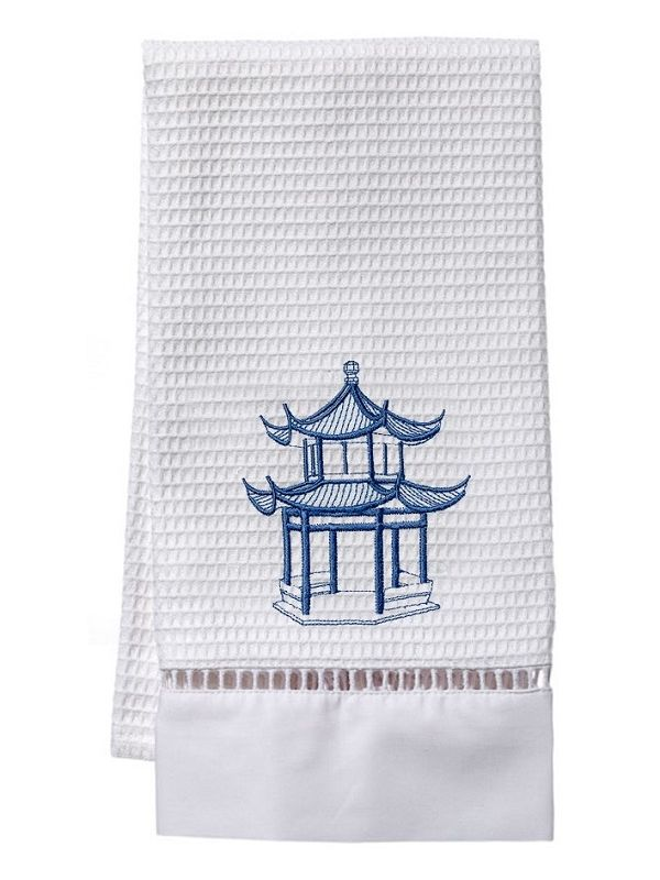 Guest Towel, Waffle Weave, Pagoda (Blue) - DG02-PAGBL**