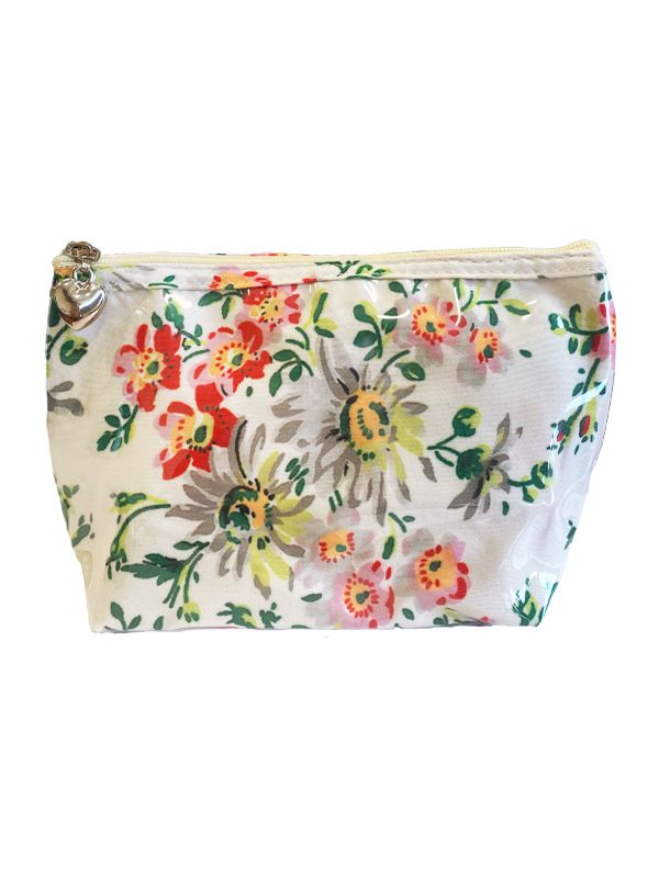 small cosmetic bag colorful cream spring