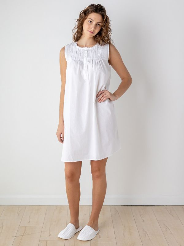 camille cotton nightgown