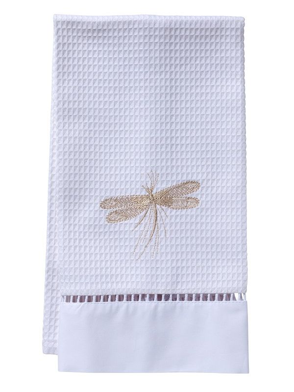 Guest Towel, Waffle Weave, Dragonfly Classic (Beige) - DG02-CDBE