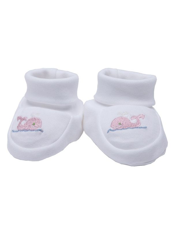 Booties, Whale (Pink) - RW33-WP**