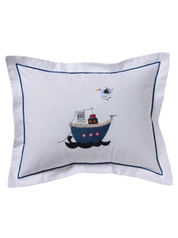 Baby Boudoir Pillow Cover, Steamboat - DG81-STB