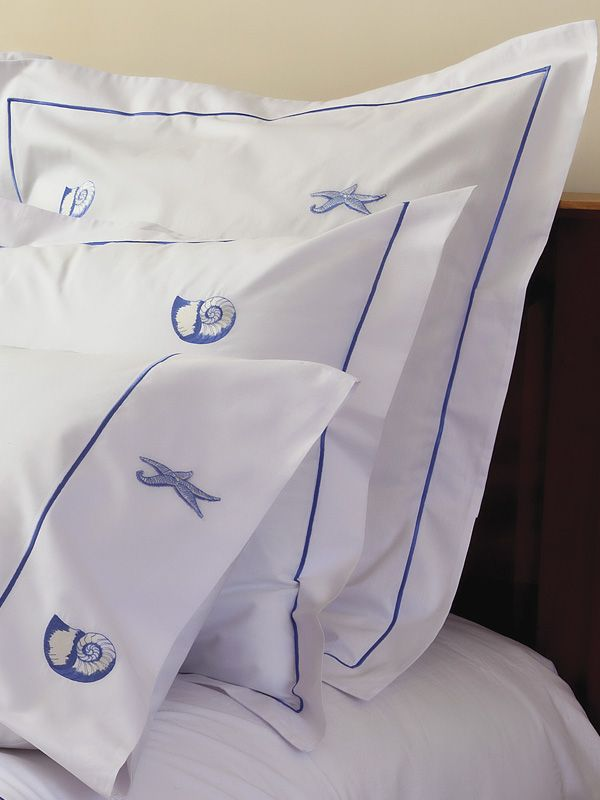 Euro Pillow Covers - Embroidered