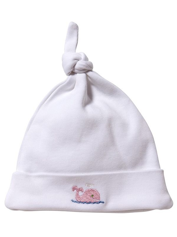 Knotted Hat, Whale (Pink) - RW37-WP**
