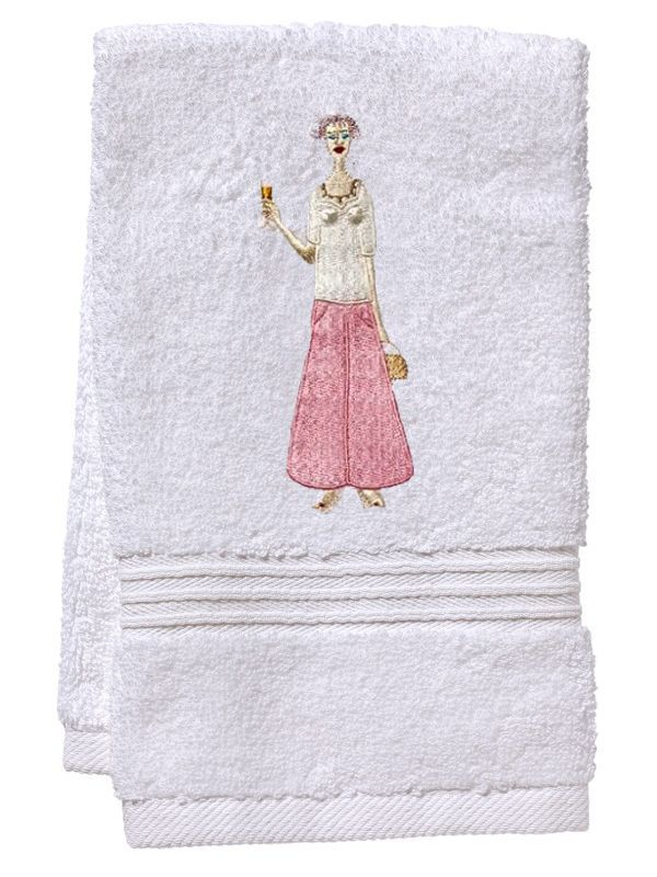 DG70-CHLPK Guest Towel, Terry - Champagne Lady (Pink)