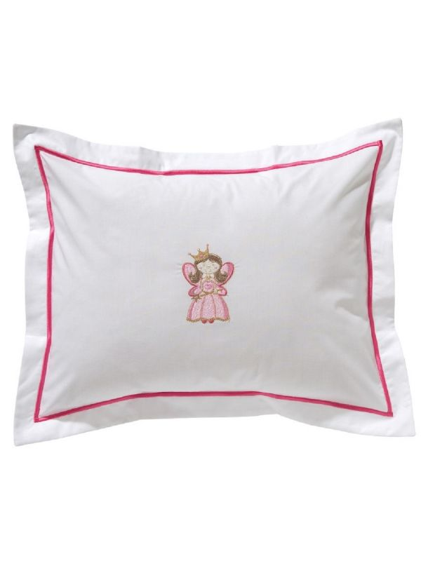 DG81-HFPK Baby Boudoir Pillow Cover - Happy Fairy (Pink)