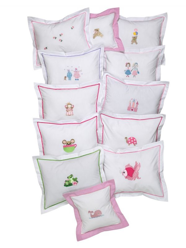 Boudoir Pillow Covers (Children & Baby) - Embroidered