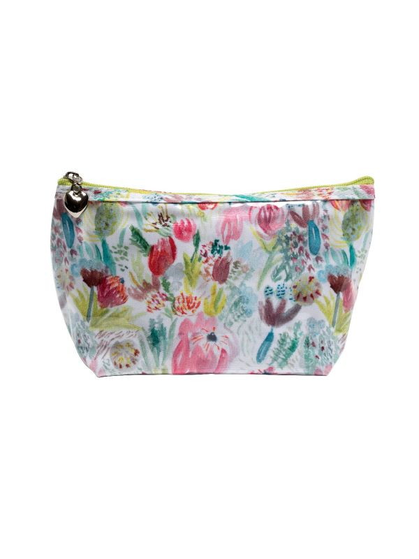 cape flora cosmetic bag
