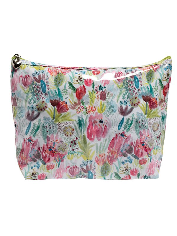cape flora cosmetic bag jacaranda living