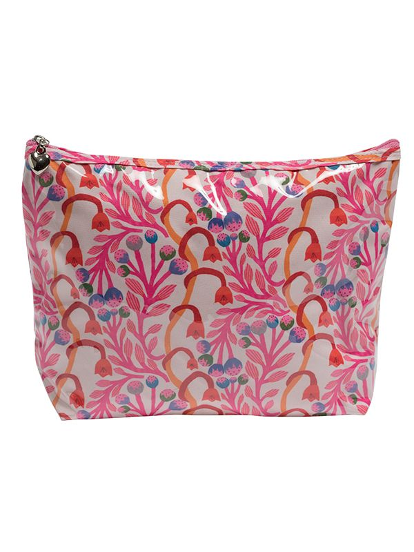blue fans cosmetic bag jacaranda living