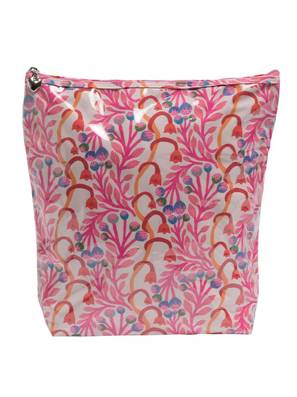 Cosmetic Bag (Large), Strawberry Vine - DN302-SVPK