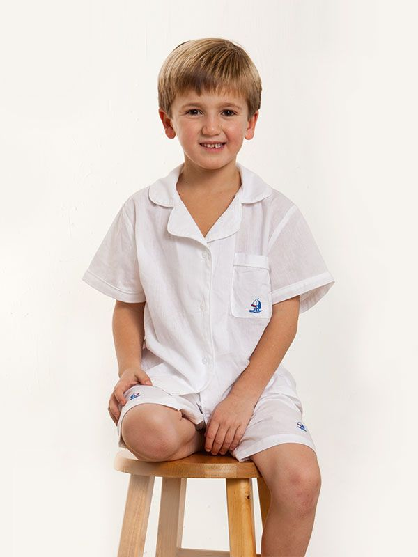 Sailboat (Boys) 2-Piece Bermuda Shorts Set** - EL260