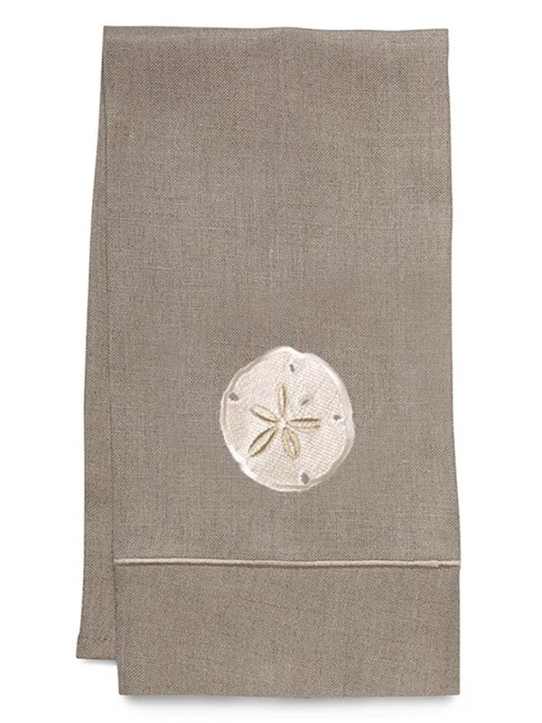 Guest Towel, Natural Linen, Sand Dollar (Cream) - DG33-SDCR**