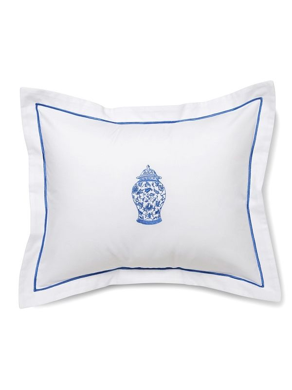DG78-GJW** Boudoir Pillow Cover - Ginger Jar (Wide)