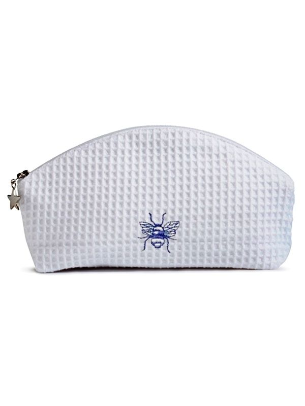DG10-BEBL Cosmetic Bag (Small) - Bee (Blue)