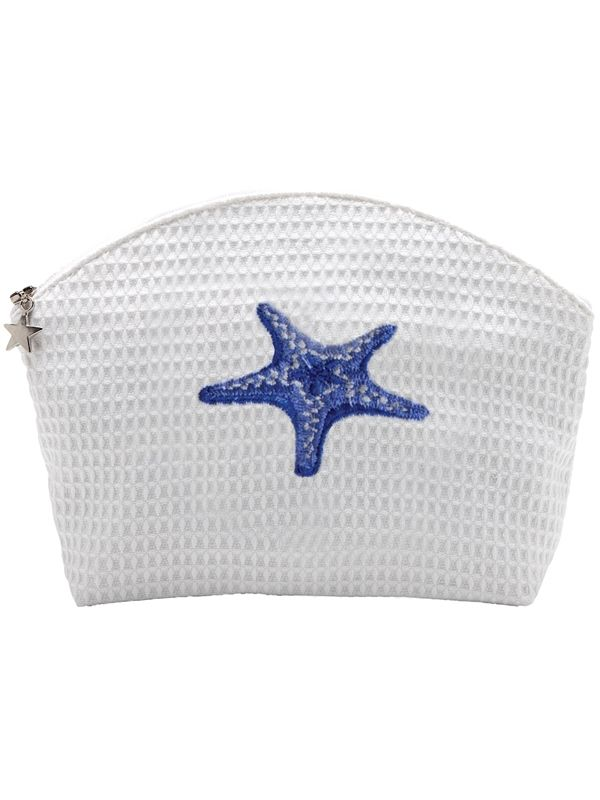 DG07-MSFBL** Cosmetic Bag (Large) - Morning Starfish (Blue)