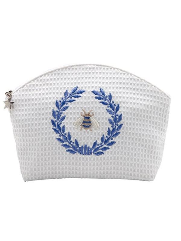 DG07-NBWBL Cosmetic Bag (Large) - Napoleon Bee Wreath (BL)