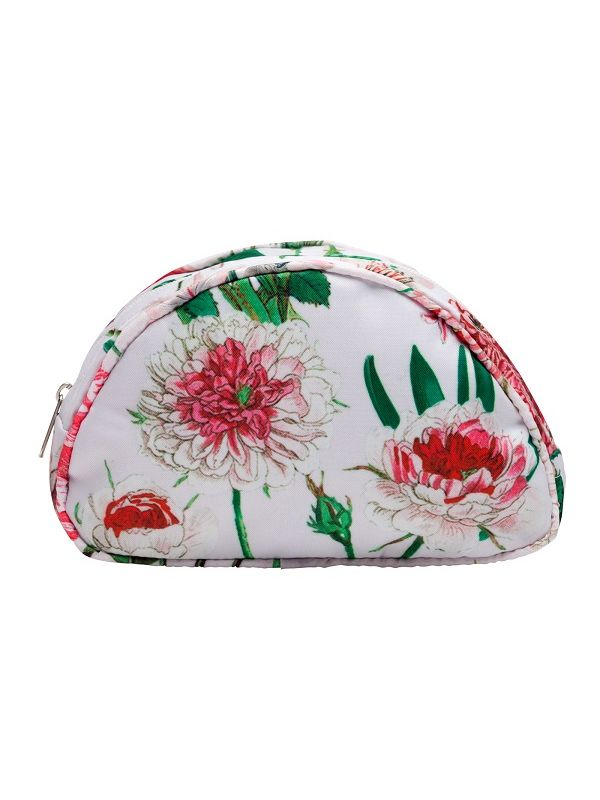 Cosmetic Bag (Small), Peony Design (Pink) - RH115-PPK