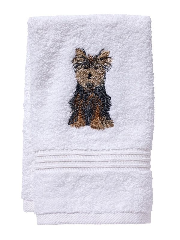 DG70-YD Guest Towel, Terry - Yorkie Dog