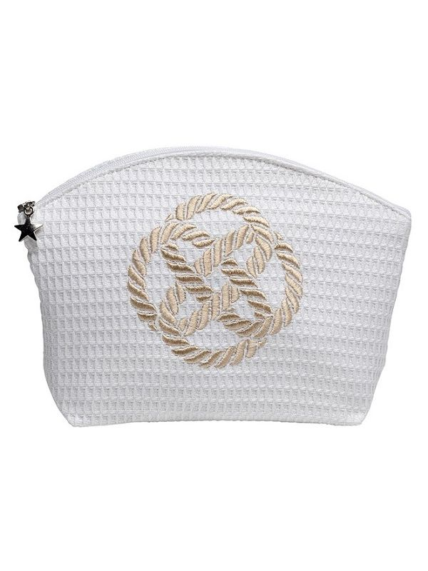 DG07-SKNBE Cosmetic Bag (Large) - Sailor's Knot (Beige)