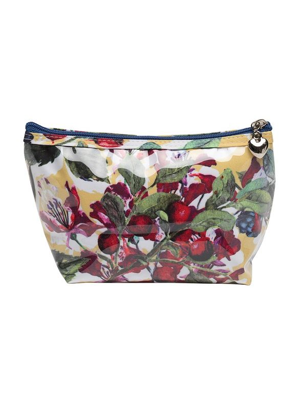 Cosmetic Bag (Small), Berry (Floral) - DN300-BFL