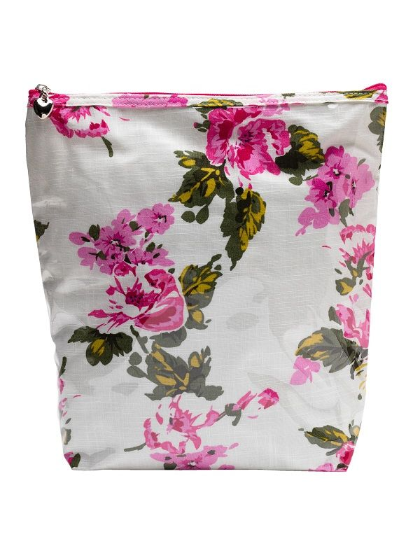 Cosmetic Bag (Large), Magenta Blossom - DN302-MB