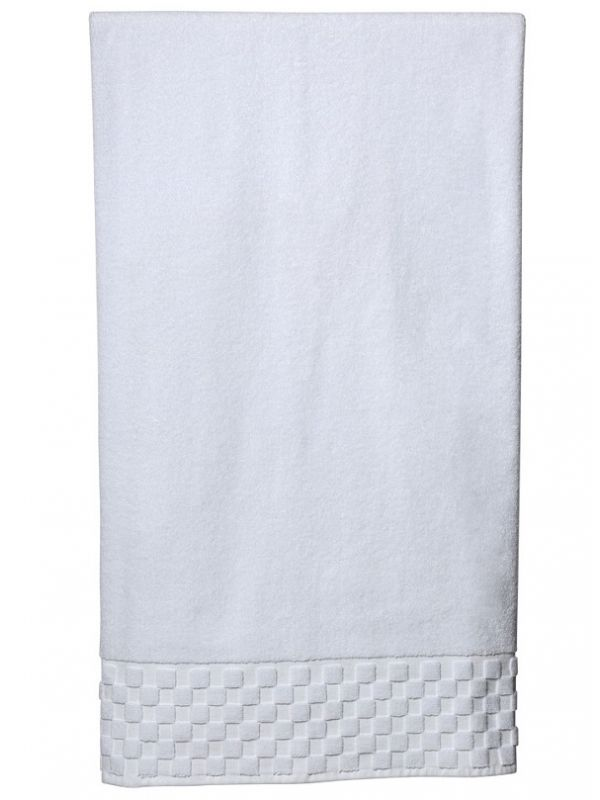 Bath Sheet - White Turkish Cotton Terry - HT07**