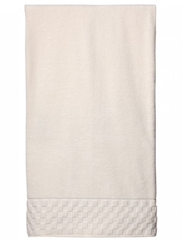 Bath Sheet - Ivory Turkish Cotton Terry - HT08**