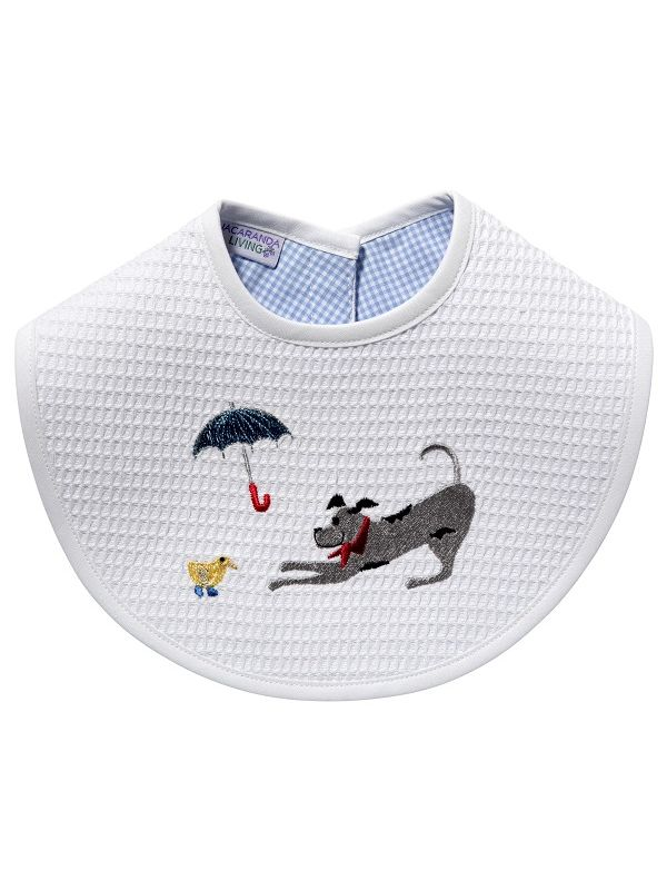 Bib, Dog, Umbrella, Duck (Black) - DG133-DY**