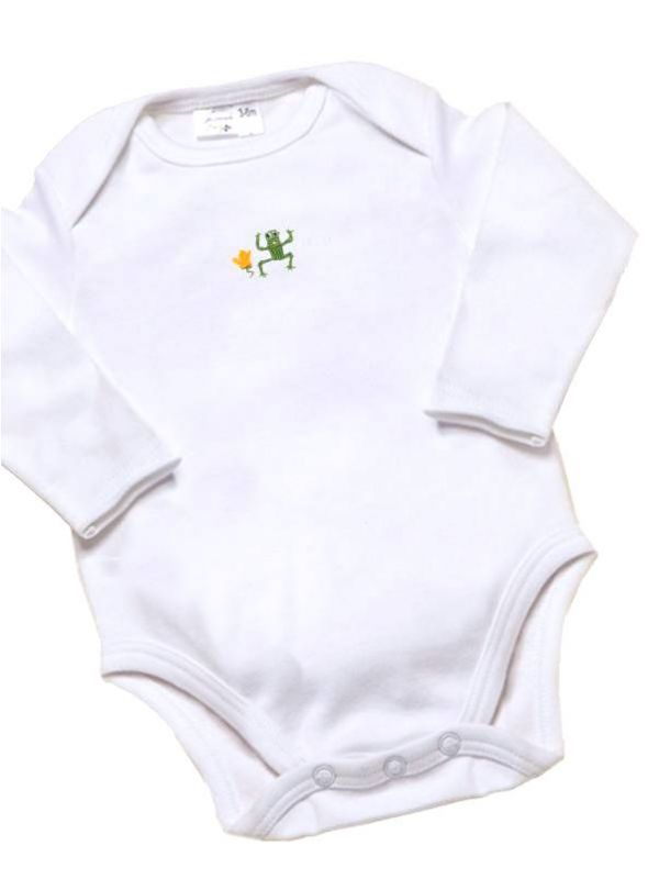 Onesie (Long Sleeve), Frog (Green) - RW21-FRGR**