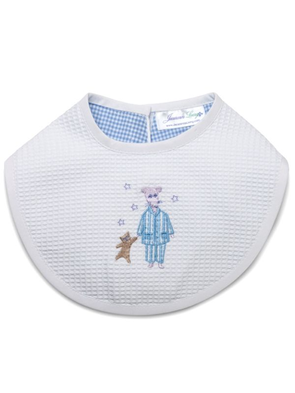 Bib, Mouse (Blue) - DG133-MOBL