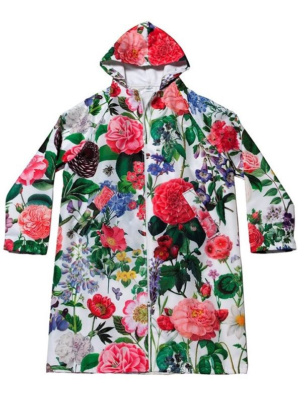 Raincoat, English Garden Design** - RH122-EG
