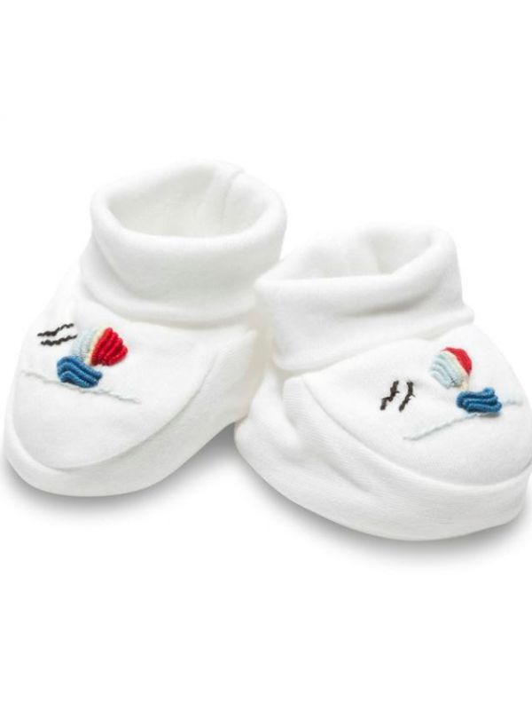 Booties, Sailboat (Red-Blue) - RW33-SBRB**