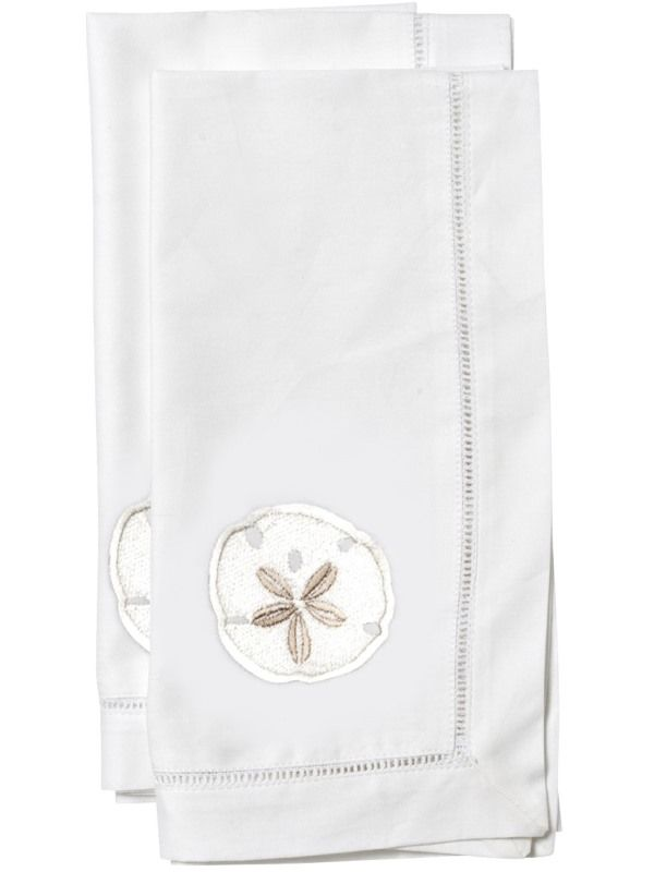LG81-SDCR Dinner Napkin, Sand Dollar (Cream)** Set of 2