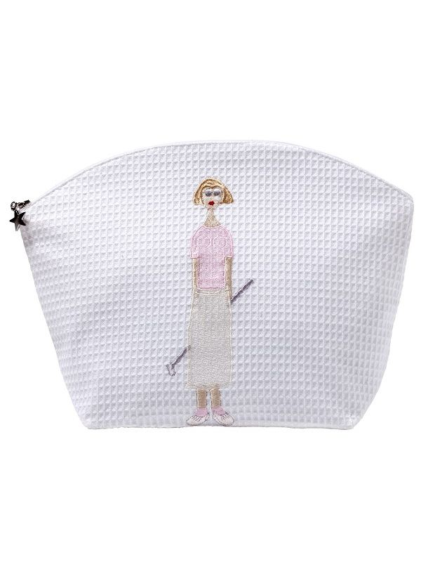 DG07-GL** Cosmetic Bag (Large) - Golf Lady