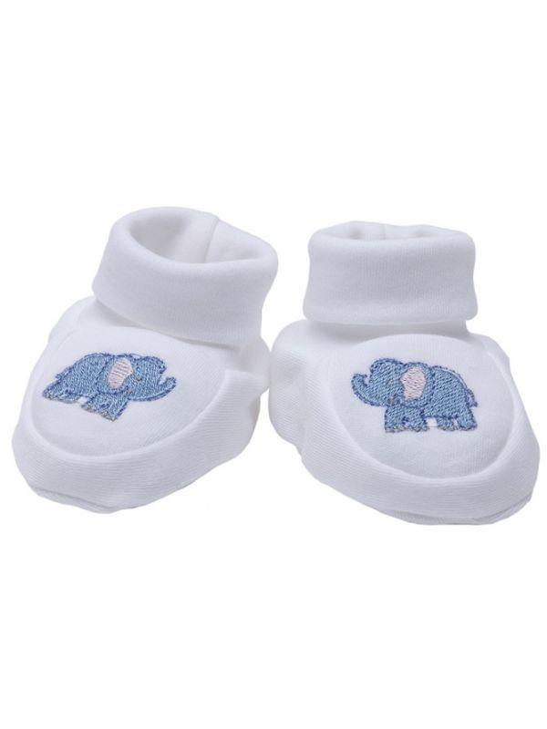 Booties, Elephant (Blue) - RW33-EB**