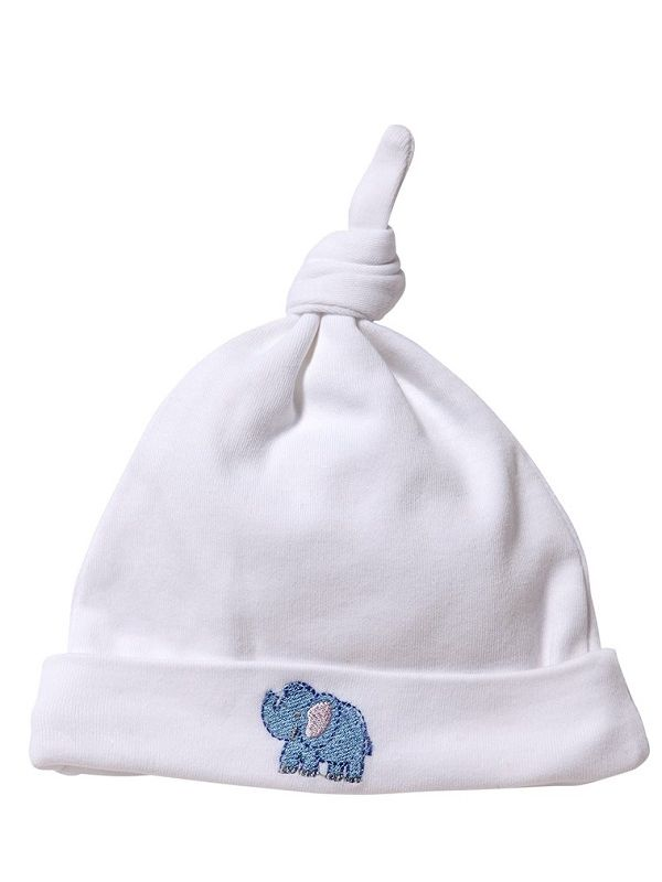 Knotted Hat, Elephant (Blue) - RW37-EB**