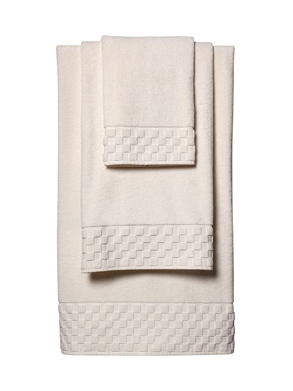 Bath Towel Set - Ivory Turkish Cotton Terry - HT10**