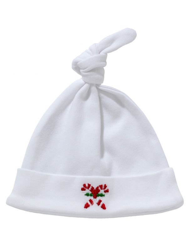 Knotted Hat, Candy Cane - RW37-CC**
