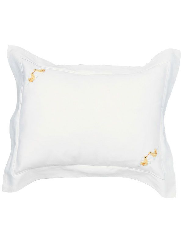 RW16-DKSY Boudoir Pillow Cover - Ducks (Yellow)